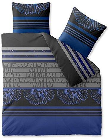 sch ne bettw sche aus microfaser blau 200x220 von celinatex bettw sche. Black Bedroom Furniture Sets. Home Design Ideas
