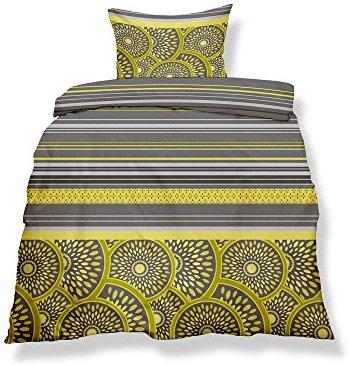 h bsche bettw sche aus microfaser gelb 200x200 von. Black Bedroom Furniture Sets. Home Design Ideas