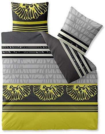 sch ne bettw sche aus microfaser gelb 200x220 von. Black Bedroom Furniture Sets. Home Design Ideas