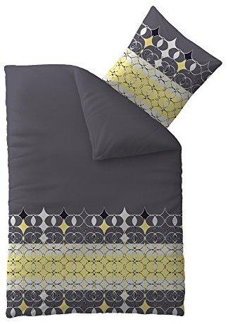 traumhafte bettw sche aus microfaser grau 155x220 von. Black Bedroom Furniture Sets. Home Design Ideas
