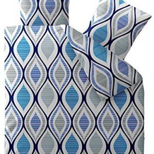 Kuschelige Bettwäsche aus Microfaser - grau 200x200 von CelinaTex