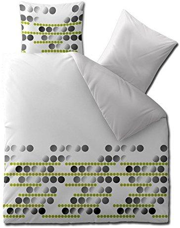 Schöne Bettwäsche aus Microfaser - grau 200x200 von CelinaTex