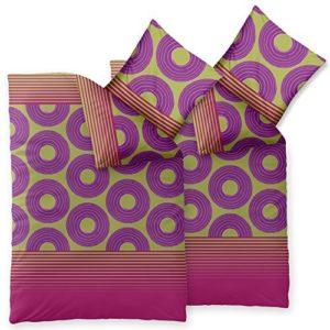 Traumhafte Bettwäsche aus Microfaser - rosa 135x200 von CelinaTex