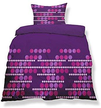 h bsche bettw sche aus microfaser rosa 155x220 von celinatex bettw sche. Black Bedroom Furniture Sets. Home Design Ideas