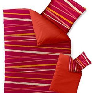 Kuschelige Bettwäsche aus Microfaser - rosa 155x220 von CelinaTex