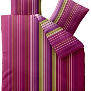 Schöne Bettwäsche aus Microfaser - rosa 200x200 von CelinaTex