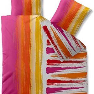 Traumhafte Bettwäsche aus Microfaser - rosa 200x200 von CelinaTex