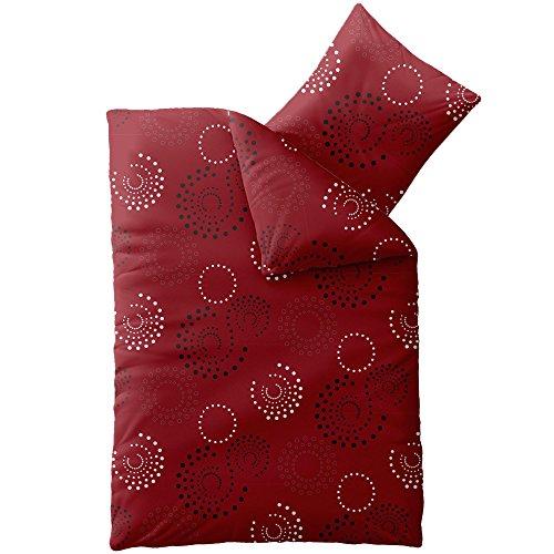h bsche bettw sche aus microfaser rot 135x200 von. Black Bedroom Furniture Sets. Home Design Ideas