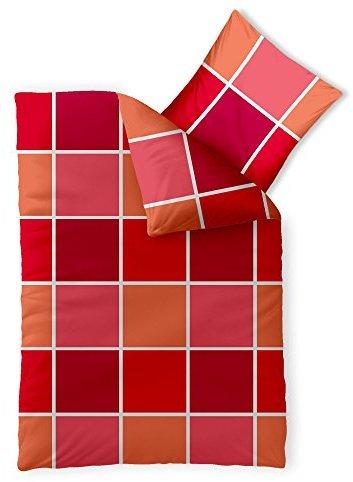 sch ne bettw sche aus microfaser rot 155x220 von. Black Bedroom Furniture Sets. Home Design Ideas