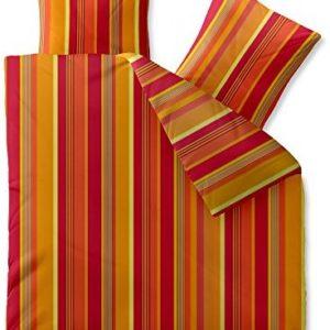 Traumhafte Bettwäsche aus Microfaser - rot 200x200 von CelinaTex
