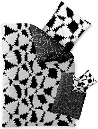 sch ne bettw sche aus microfaser schwarz 155x220 von celinatex bettw sche. Black Bedroom Furniture Sets. Home Design Ideas