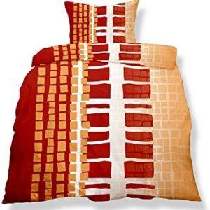 Schöne Bettwäsche aus Microfaser - weiß 155x220 von CelinaTex