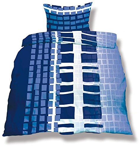 Traumhafte Bettwäsche aus Microfaser - weiß 155x220 von CelinaTex
