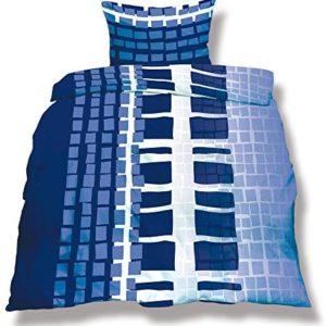 Hübsche Bettwäsche aus Microfaser - weiß 200x200 von CelinaTex