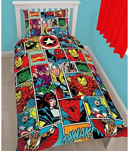 Schöne Bettwäsche aus Mikrofaser - 135x200 von Marvel