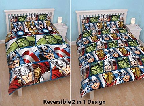Hübsche Bettwäsche aus Mikrofaser - 200x200 von Marvel
