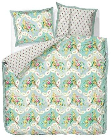 Hübsche Bettwäsche aus Perkal - blau 155x220 von PiP Studio