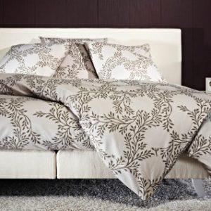 Hübsche Bettwäsche aus Perkal - grau 135x200 von Mistral