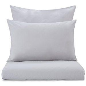 Hübsche Bettwäsche aus Perkal - grau 135x200 von URBANARA