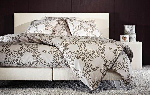 kuschelige bettw sche aus perkal grau 155x220 von mistral bettw sche. Black Bedroom Furniture Sets. Home Design Ideas