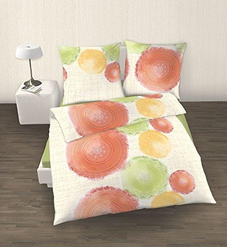 h bsche bettw sche aus perkal gr n 135x200 von ido. Black Bedroom Furniture Sets. Home Design Ideas