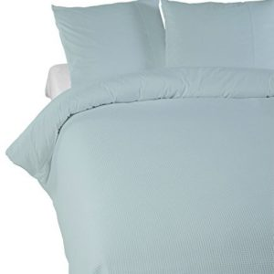 Kuschelige Bettwäsche aus Perkal - grün 135x200