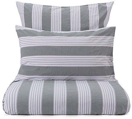 h bsche bettw sche aus perkal gr n 200x200 von urbanara bettw sche. Black Bedroom Furniture Sets. Home Design Ideas