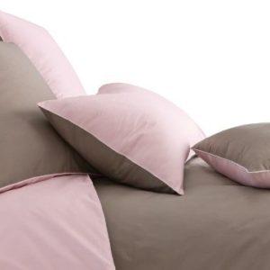 Kuschelige Bettwäsche aus Perkal - rosa 140x200 von BLANC CERISE