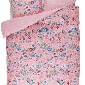 Hübsche Bettwäsche aus Perkal - rosa 155x220 von PiP Studio