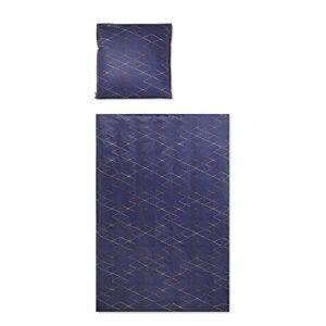 Schöne Bettwäsche aus Perkal - rot 135x200 von Covered