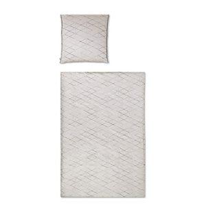 Kuschelige Bettwäsche aus Perkal - rot 135x200 von Covered