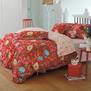 Hübsche Bettwäsche aus Perkal - rot 135x200 von PiP Studio
