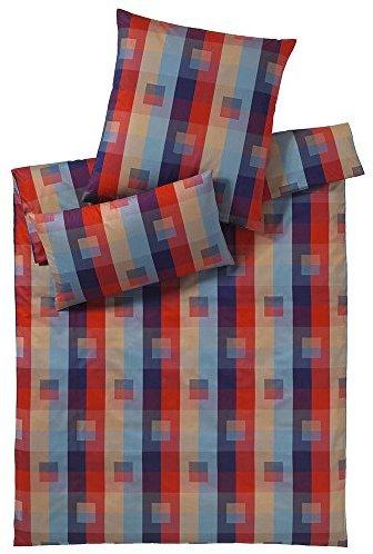 h bsche bettw sche aus perkal rot 200x200 von elegante bettw sche. Black Bedroom Furniture Sets. Home Design Ideas