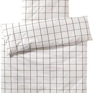 Traumhafte Bettwäsche aus Perkal - schwarz 200x200 von elegante