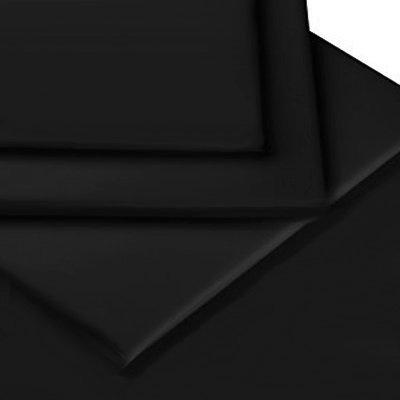 sch ne bettw sche aus perkal schwarz 200x200 von linens limited bettw sche. Black Bedroom Furniture Sets. Home Design Ideas