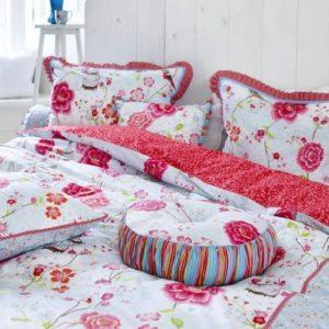 Traumhafte Bettwäsche aus Perkal - weiß 135x200 von Pip