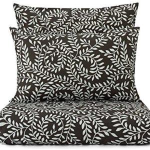 Kuschelige Bettwäsche aus Perkal - weiß 200x200 von URBANARA