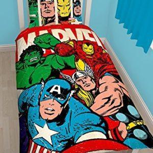 Schöne Bettwäsche aus Polyester - 135x200 von Marvel