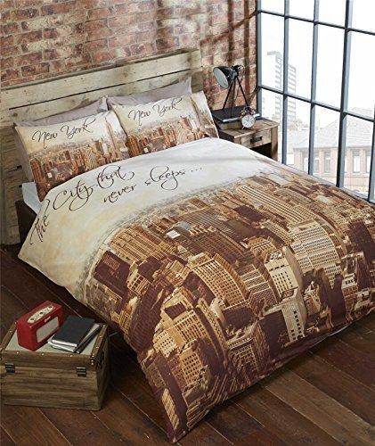 kuschelige bettw sche aus polyester braun 200x200 von duvet cover bettw sche. Black Bedroom Furniture Sets. Home Design Ideas