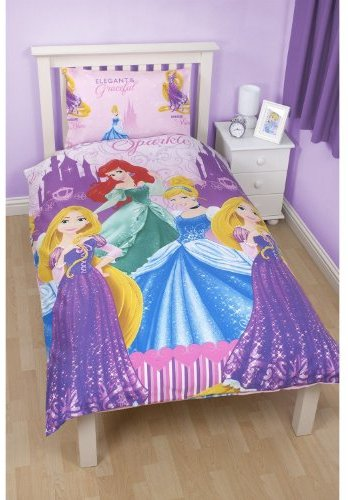 sch ne bettw sche aus polyester disney rosa 135x200 von disney princess bettw sche. Black Bedroom Furniture Sets. Home Design Ideas