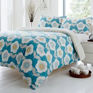 Hübsche Bettwäsche aus Polyester - grün 200x200 von Dreams 'n' Drapes