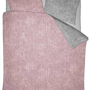 Schöne Bettwäsche aus Polyester - rosa 200x200 von NIGHTLIFE
