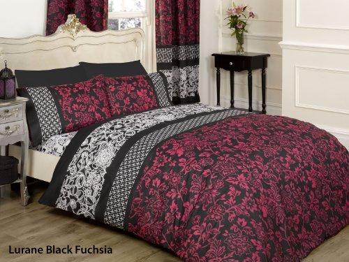 h bsche bettw sche aus polyester schwarz 200x200 von a r bettw sche. Black Bedroom Furniture Sets. Home Design Ideas
