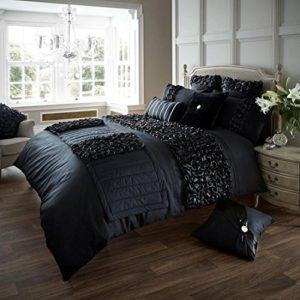 Traumhafte Bettwäsche aus Polyester - schwarz 200x200 von Skippys