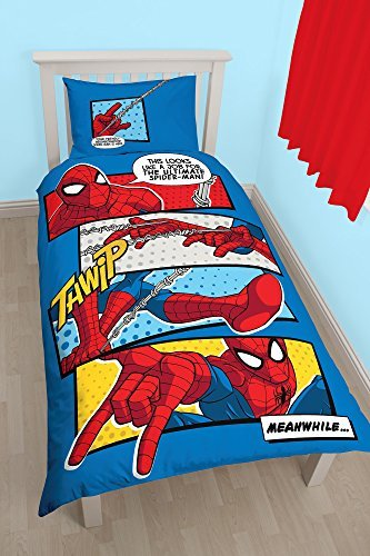sch ne bettw sche aus polyester spiderman von marvel bettw sche. Black Bedroom Furniture Sets. Home Design Ideas