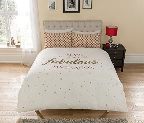 sch ne bettw sche aus polyester wei 200x200 von ik. Black Bedroom Furniture Sets. Home Design Ideas