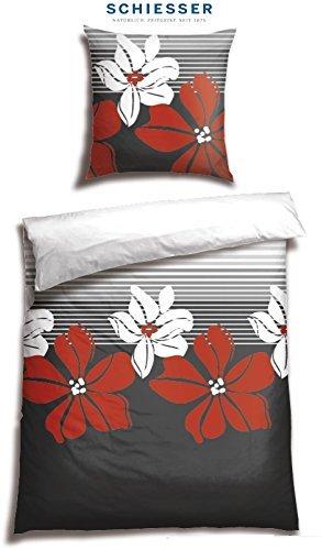 Hübsche Bettwäsche aus Renforcé - 155x200 von Schiesser