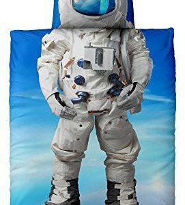 Traumhafte Bettwäsche aus Renforcé - blau 135x200 von CelinaTex
