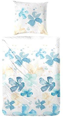 kuschelige bettw sche aus renforc blau 135x200 von hahn bettw sche. Black Bedroom Furniture Sets. Home Design Ideas