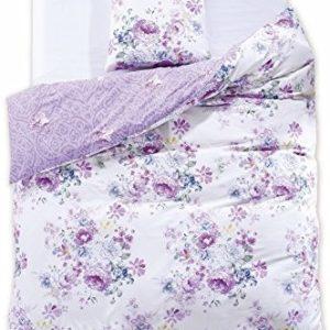 Hübsche Bettwäsche aus Renforcé - blau 155x220 von DecoKing